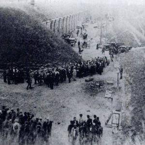 Žydai, suvaryti į VII fortą (1941 m. liepos mėn.)