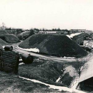 VII fortas sovietmečiu - 29-ojo Pabaltijo karinės apygardos vojentorgo bazė